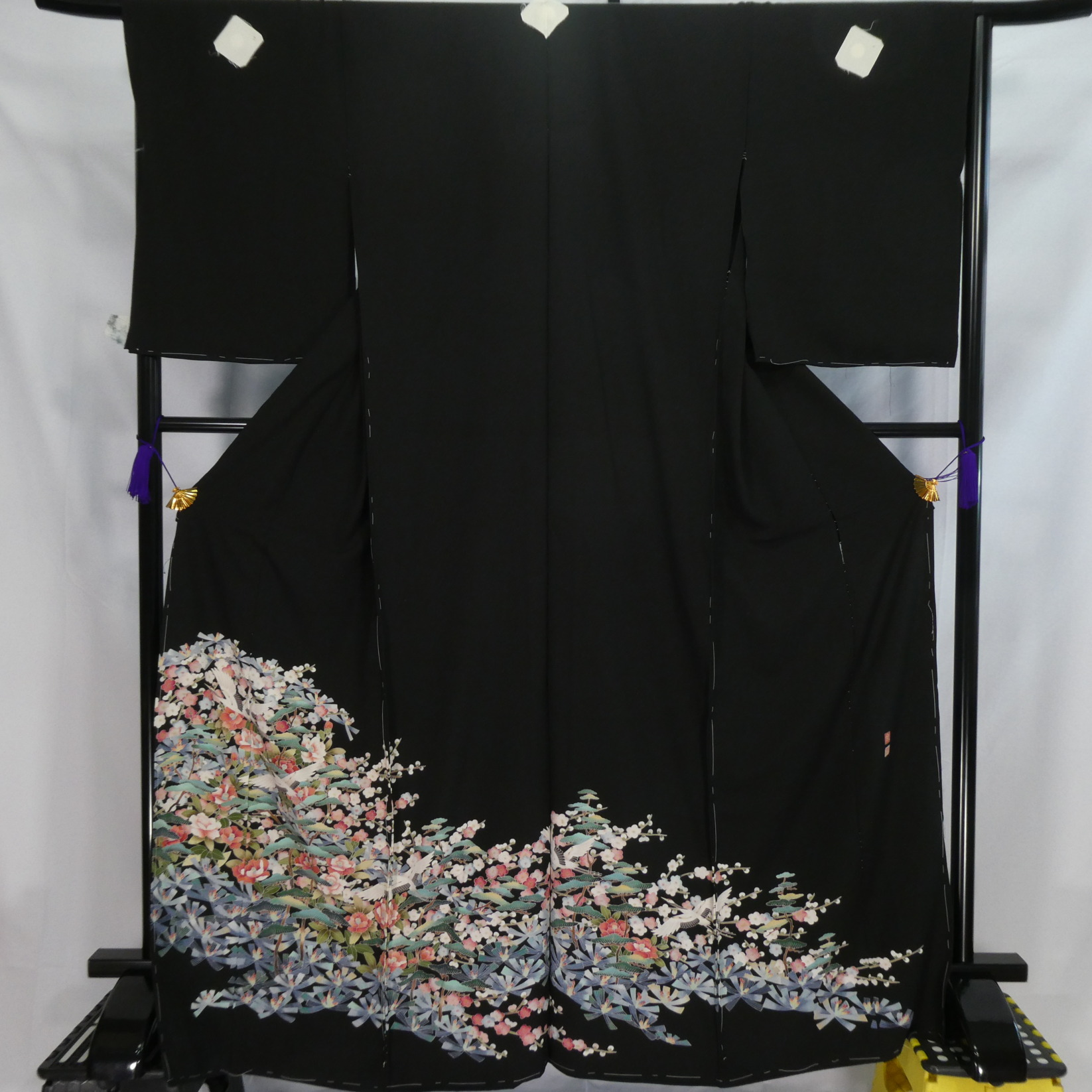 No.5135_留袖 新品仮縫い